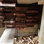 Redwood Fence Boards - Used