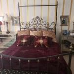 Queen Size Iron Bed and Footboard
