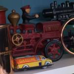 Tin/cast iron cars & truck