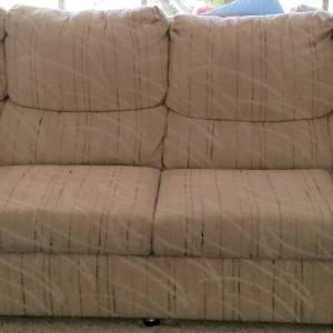 Photo of Lazy Boy Couch and Loveseat Heavy Duty for a Big Man X long couch 9.5'