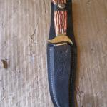 "Knife * 8 1/4"" With Sheath"