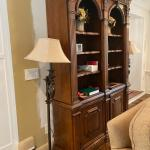 Wood wall unit