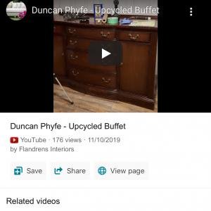 Photo of Duncan Phyfe sideboard