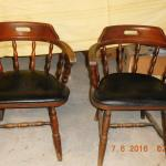 barrel chair pair