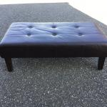 Cushioned coffee table