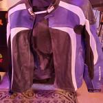 Bilt racing leather motorcycle jacket