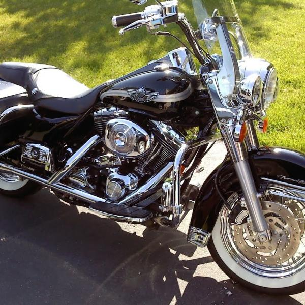 Photo of 2003 Harley Davidson Road King Classic  Motorcycle 100th Anniversary Edition