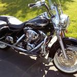 2003 Harley Davidson Road King Classic  Motorcycle 100th Anniversary Edition