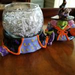 Witch  Candy Container