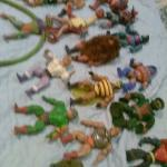 Collection of 16 Heman Figures.