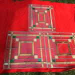 Vintage Stained Glass Windows Prairie Style