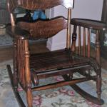 Antique Rocking Chair - All Wood
