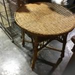 Wicker Small Table