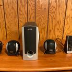 Gateway Gmax 2100 Speakers W/Power Supply