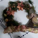 FLASH SALE Cute 12 inch  Gold twig Christmas Wreath