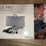 Mirage pro barbecue set