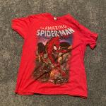 Men's Amazing Spider Man Red size Large T-shirt
