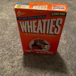 Wheaties Cornhuskers Tom Osborne Cereal Box