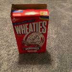 Autographed by the Cornhuskers Heisman winner Wheaties cereal box