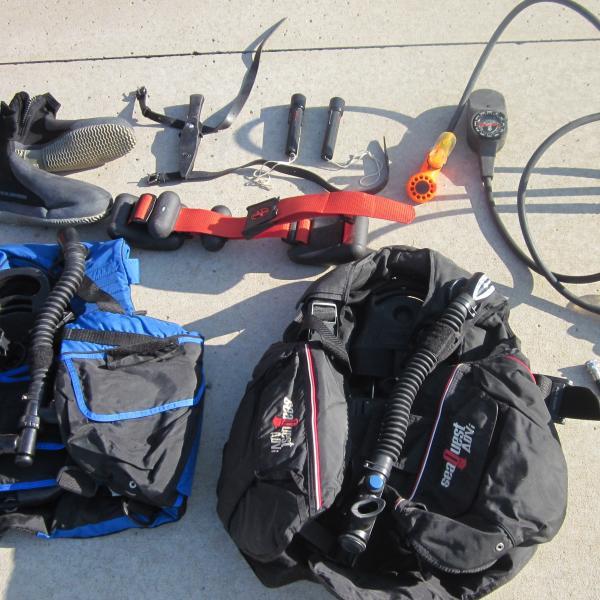 Photo of Scuba gear - used