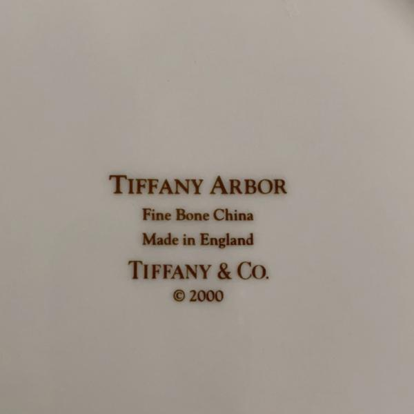 Photo of Tiffany Arbor fine China dinner plates
