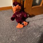 Virginia Tech Stuffed stuffed Hokies mascot