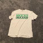 Men's Size Large Magically Delicious White T-shirt