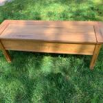 All wood Storage Bench