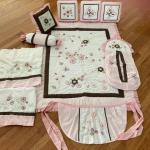 Beautiful GEENNY crib baby bedding