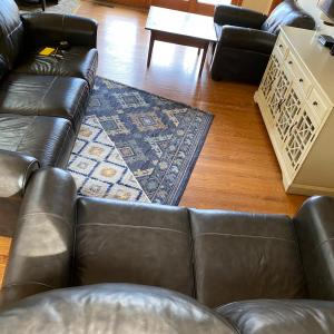 Photo of Three piece sofa sectional set