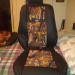 Rixxu Brown Camouflage Nissan frontier seat covers