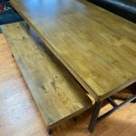 Awesome table and 2 bench set