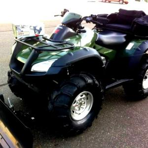 Photo of Honda Rincon 650 4x4 With Plow