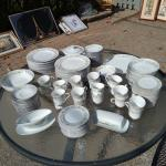 Fine China - Family of 24 Plate Dish Set