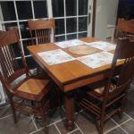 Antique dinette set