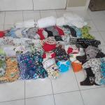 Over 50 cloth diapers
