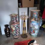 Tall Chinese Designed Vase