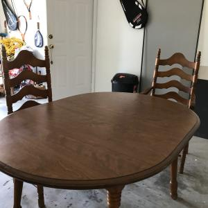 Photo of Cochrane Co. Dinning Table for 4