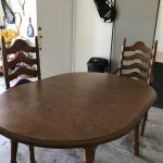 Cochrane Co. Dinning Table for 4