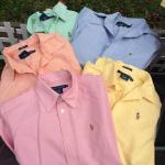 Ralph Lauren, Polo, small slim fit, button down