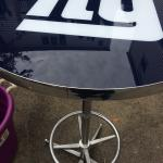 NY Giants bar table