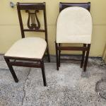 Vintage Pair of Folding Chairs musical theme