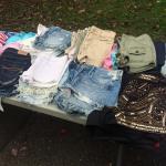 Abercrombie shorts, size 0, 2, 00