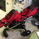 City select double or single stroller