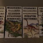 19 Dinosaur books by  Janet Riehecky