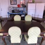 Grand Dining Room Table and Side tables