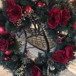 Large beautiful custom made wreath