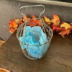 Vintage Folding egg basket