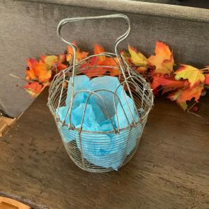 Photo of  Vintage Folding egg basket