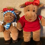 2 moose build-a-bears  C U T E !!